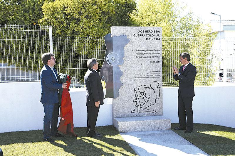 Ex-combatentes  homenageados em Delães