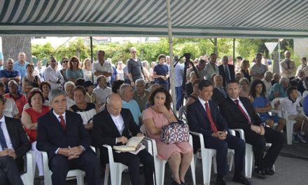 Ex-combatentes  homenageados no  Dia da Freguesia