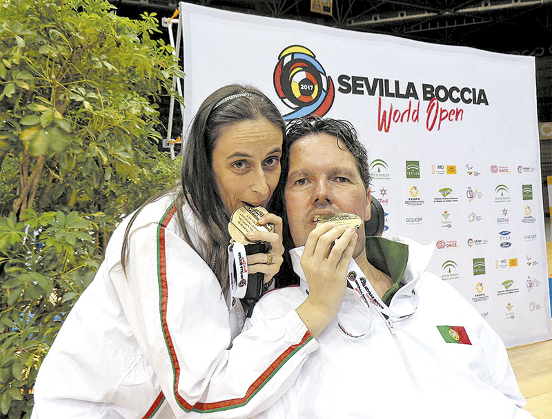 Luís Silva  conquistou o Ouro