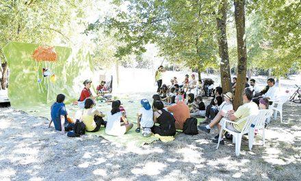 Mel: Piquenique das Artes  atraiu centenas de pessoas