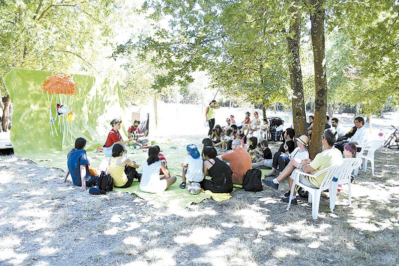 Mel Piquenique das Artes atraiu centenas de pessoas