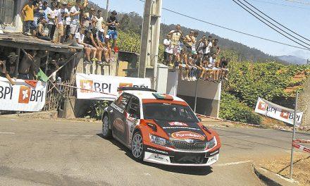 Miguel Campos foi 4.º  no Rali Vinho Madeira
