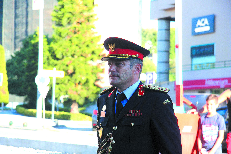 Pedro Alves tomou posse como comandante dos Bombeiros de Famalicão