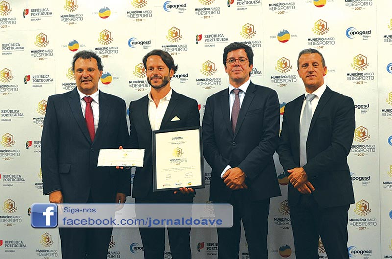 """Famalicão reconhecido como """"Município  Amigo do Desporto"""""""