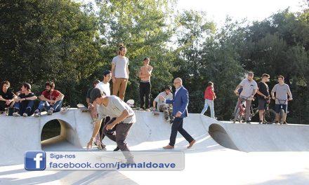 Santo Tirso já tem Skate Parque