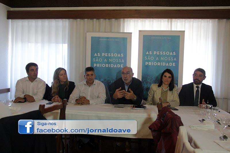 Autarca apresentou distribuição de pelouros