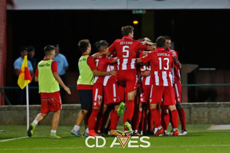 Aves segue em frente na Taça, com vitória suada em Vila Real