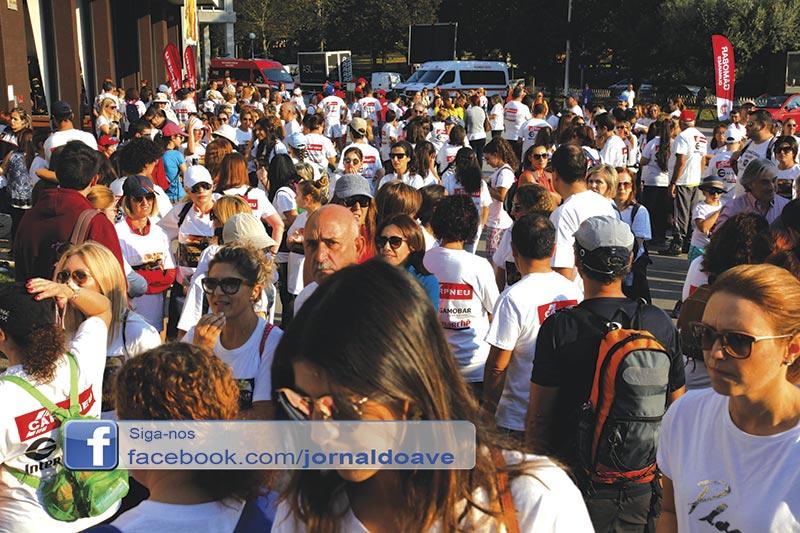 """""""Mais de 800 participantes""""  na Caminhada e Passeio BTT"""
