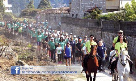 300 pessoas em Caminhada Concelhia