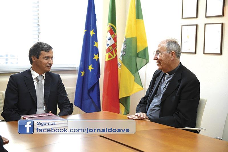 D. Jorge Ortiga realizou visita pastoral a Famalicão