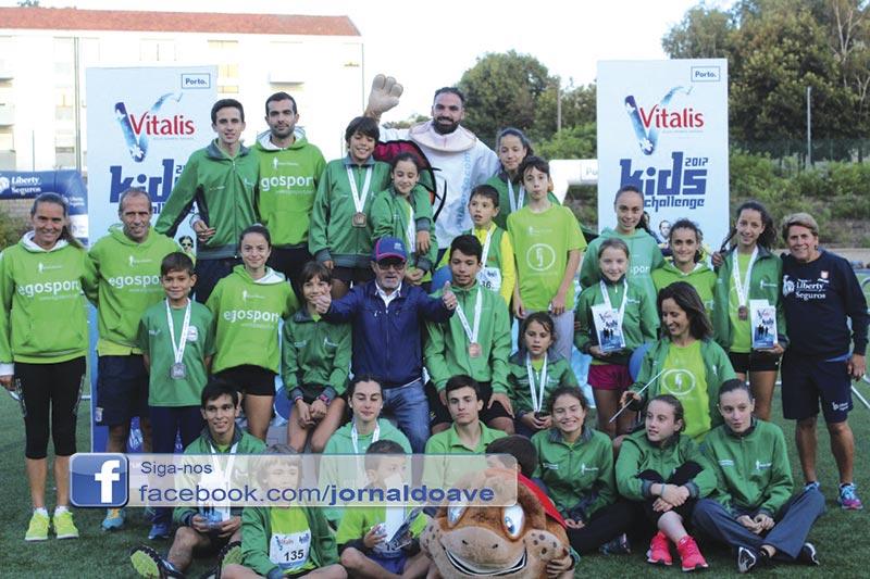 EARO com 15 pódios no Vitalis Kids Challenge