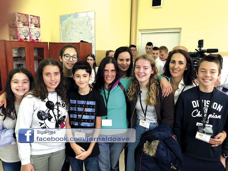 Escola de Pedome participou em projeto na Polónia