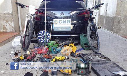 GNR recupera material furtado