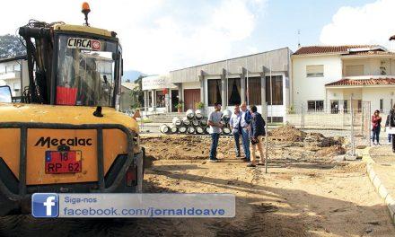 Já arrancou 2.ª fase da requalificação  da Avenida Manuel Dias Machado (c/vídeo)