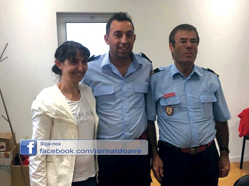 Joaquim Faria nomeado adjunto do Comando dos BV de Riba de Ave