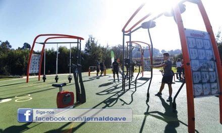 Santo Tirso inaugurou espaço de street workout