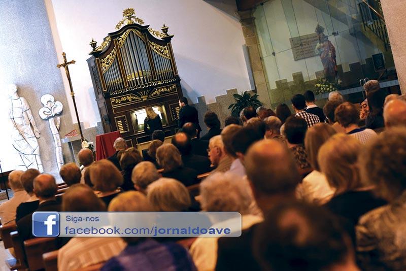 """""""Mais de 300"""" no espetáculo final do Ciclo de Concertos de Órgão"""