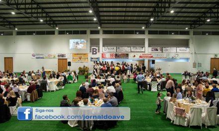 300 pessoas em jantar solidário em Brufe