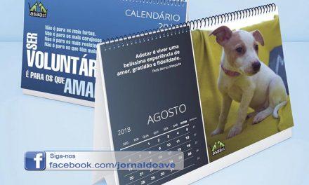 Calendário solidário para ajudar 'patudos' da Asaast