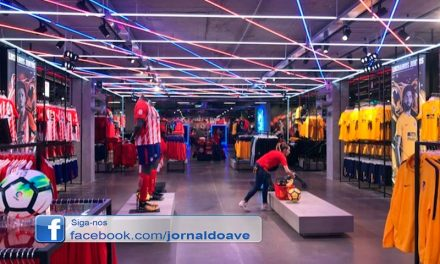 Carpintaria S. José executou lojas do Inter de Milão e do Atlético de Madrid