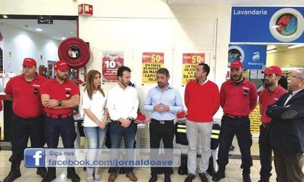 Intermarché oferece  equipamentos de proteção  individual aos Bombeiros
