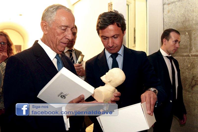 Marcelo Rebelo de Sousa inaugura exposição sobre Bernardino Machado