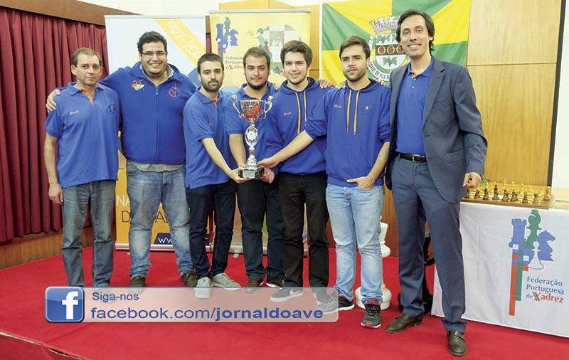 CX A2D venceu  Supertaça de Xadrez Nacional