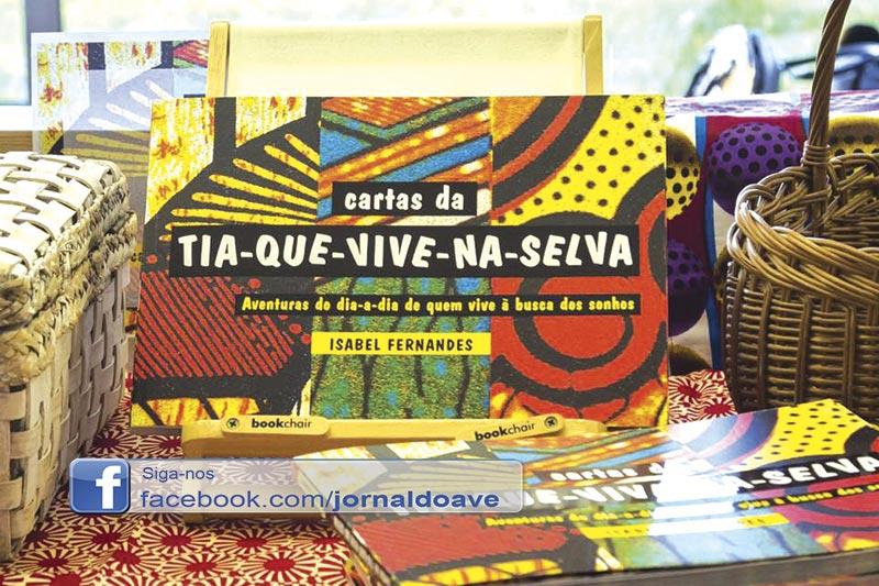 """A tia Isabel publica livro com aventuras na """"selva"""""""