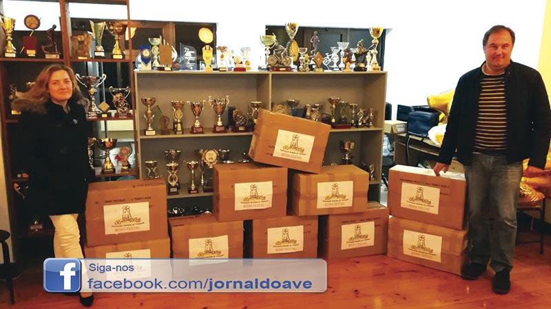 Associação Moinho de Vermoim distribuiu cabazes de Natal