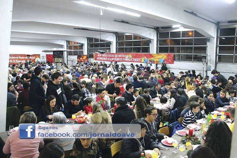 Bombeiros Famalicenses juntam 520 pessoas em Ceia Solidária