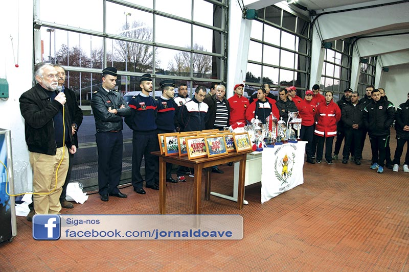 Bombeiros Famalicenses promovem torneio de futsal