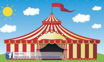 Circo é atração no Encontro de Gerações de Vila Nova do Campo