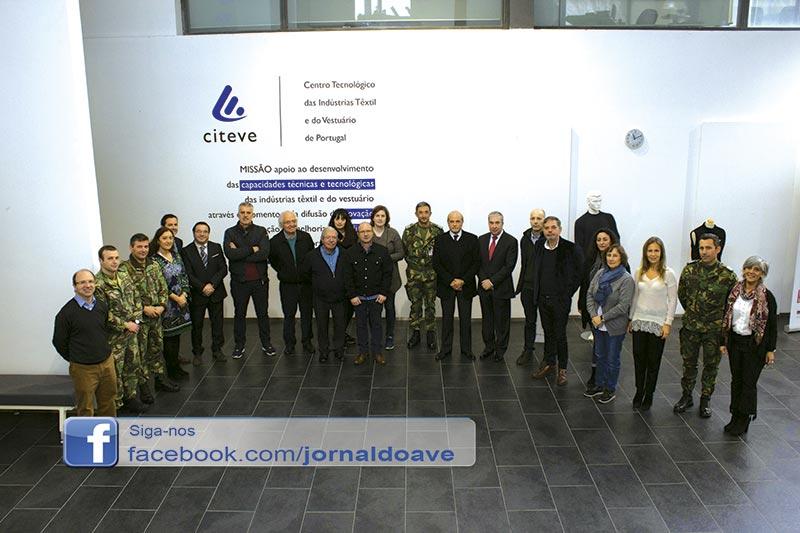 Citeve e Riopele integram projeto para equipar Exército Português