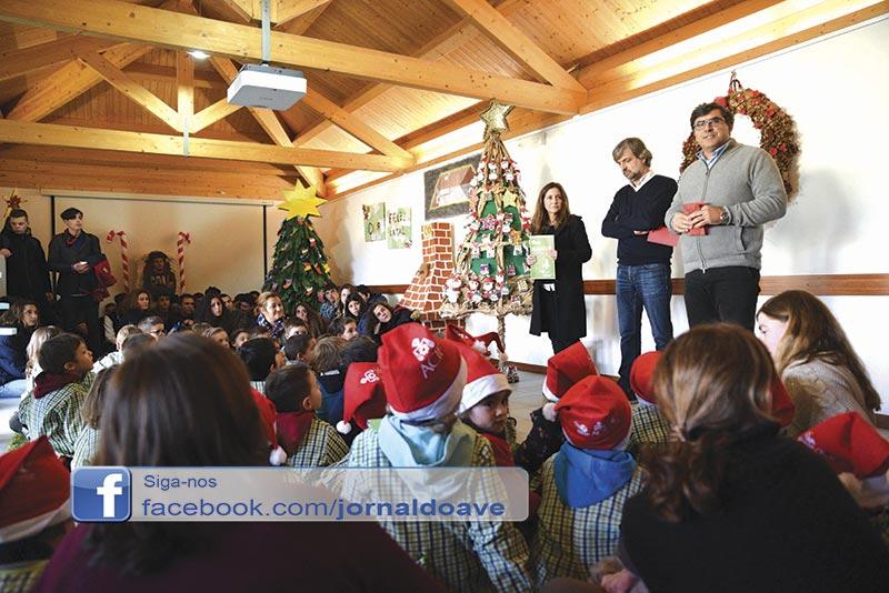 Crianças tornam Natal mais amigo do ambiente
