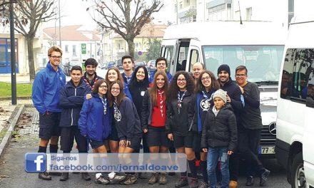 HumanitAVE foi a Tondela ajudar vítimas dos incêndios