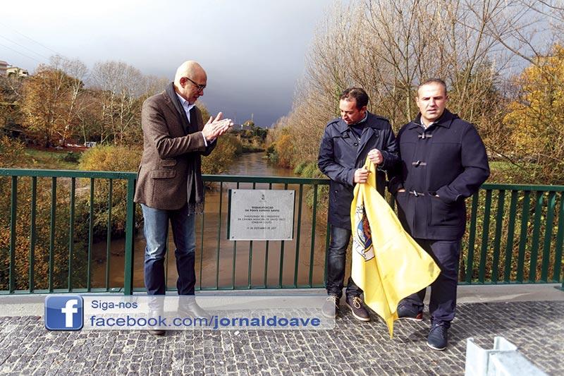 Inaugurada Ponte Espírito Santo