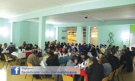 Jantar solidário reuniu 90 pessoas em Ringe (C/Vídeo)