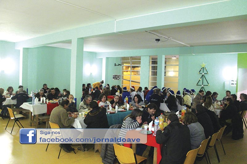 Jantar solidário reuniu 90 pessoas em Ringe