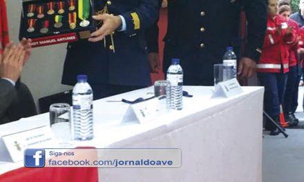 Manuel Antunes deixa  comando dos Bombeiros de Riba de Ave