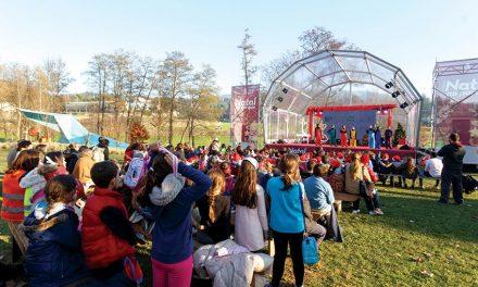 """Milhares passaram pelo """"Natal no Parque"""""""