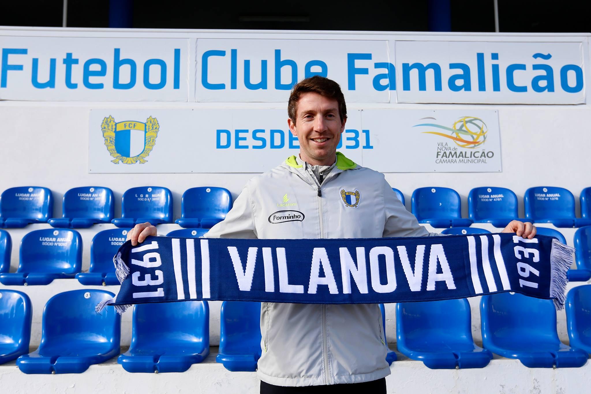 Vasco Seabra é o novo treinador do Futebol Clube de Famalicão