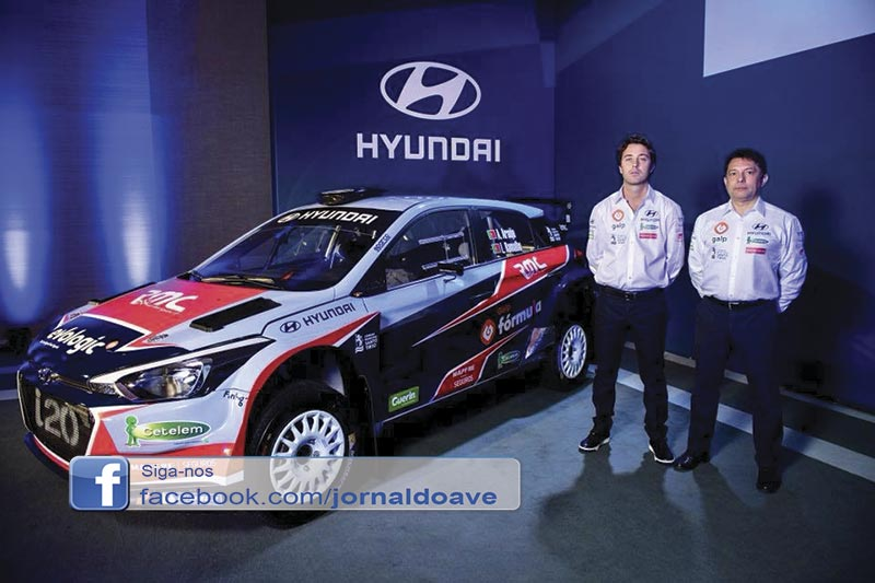 Armindo Araújo regressa aos ralis pela Hyundai
