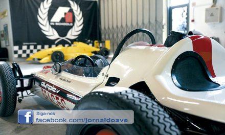 F3 de Schumacher em exposição no Museu do Automóvel