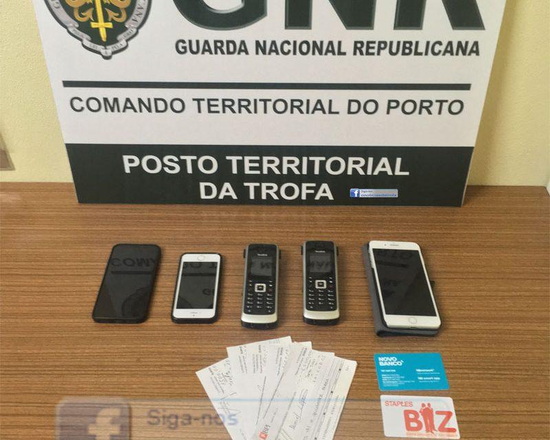 Detidos por roubo a empresa da Trofa