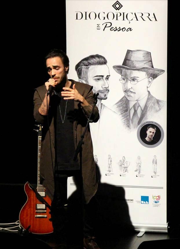 Diogo Piçarra reinventa Pessoa na Poesia Livre