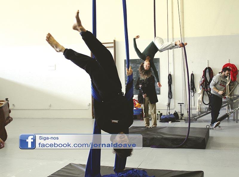 Em Famalicão nascem artistas de circo