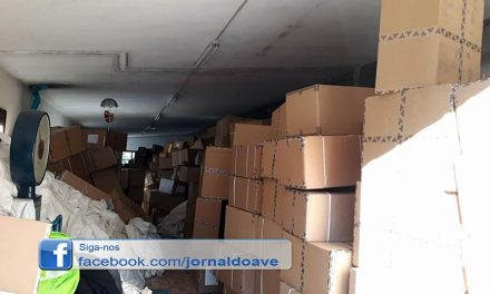 Furtaram camião  carregado com mais de  10 mil pares de sapatos