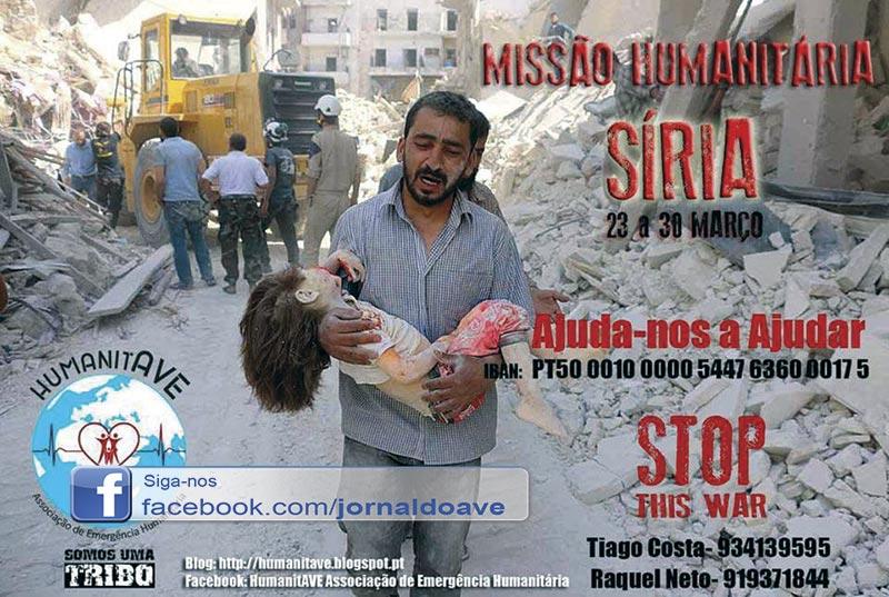 HumanitAVE em missão humanitária na Síria
