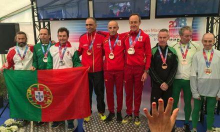 Joaquim Figueiredo é vice-campeão da Europa