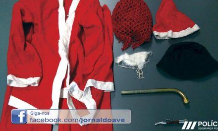 PSP detém  Pai Natal por assaltos